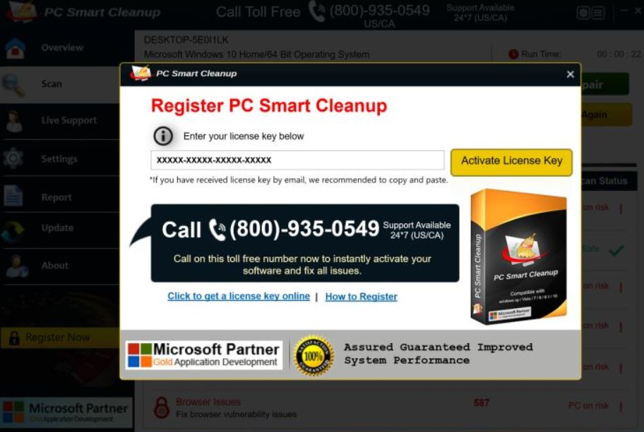 Pc Smart Cleanup Fake Cleaner How To Remove It From Your Computer