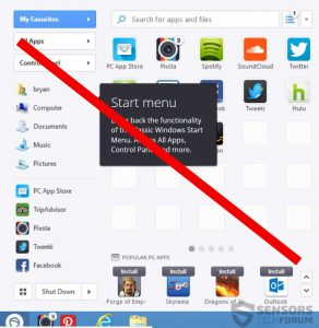 how to remove steam apps from start menu