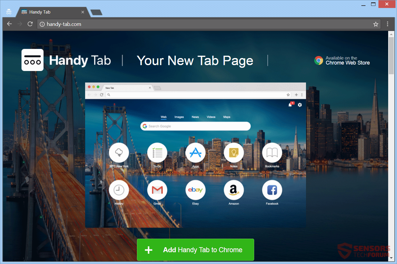 How to remove search. Handy-tab. Com redirect (virus removal guide.