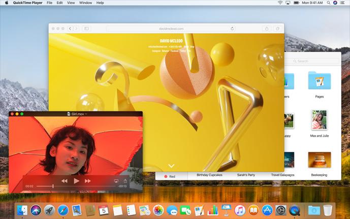 Mac OS X High Sierra Bild