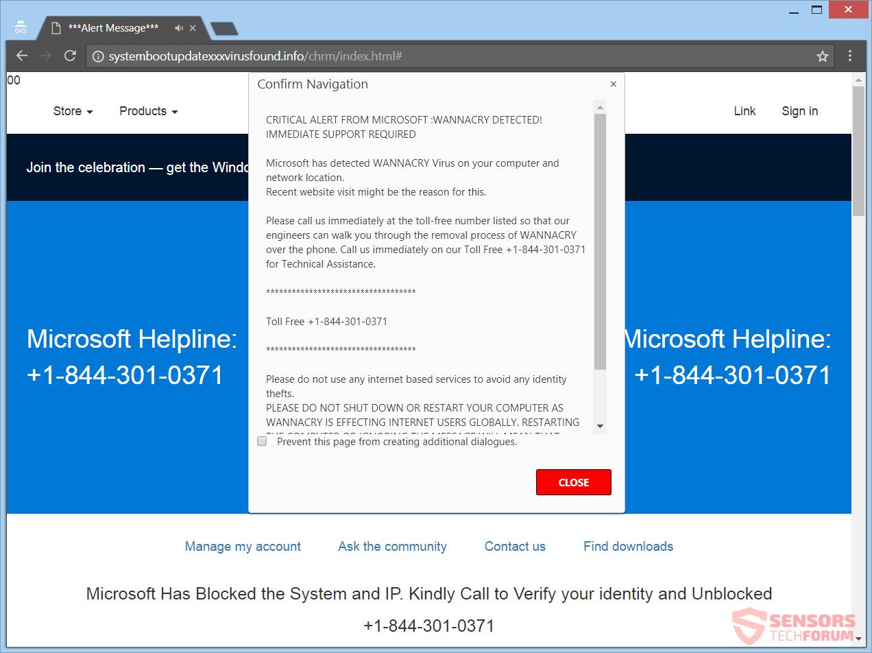 WannaCry Detectado estafa - quitarla