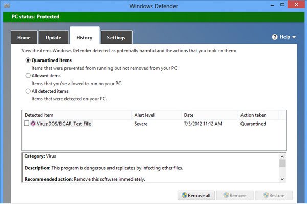 Windows Defender image