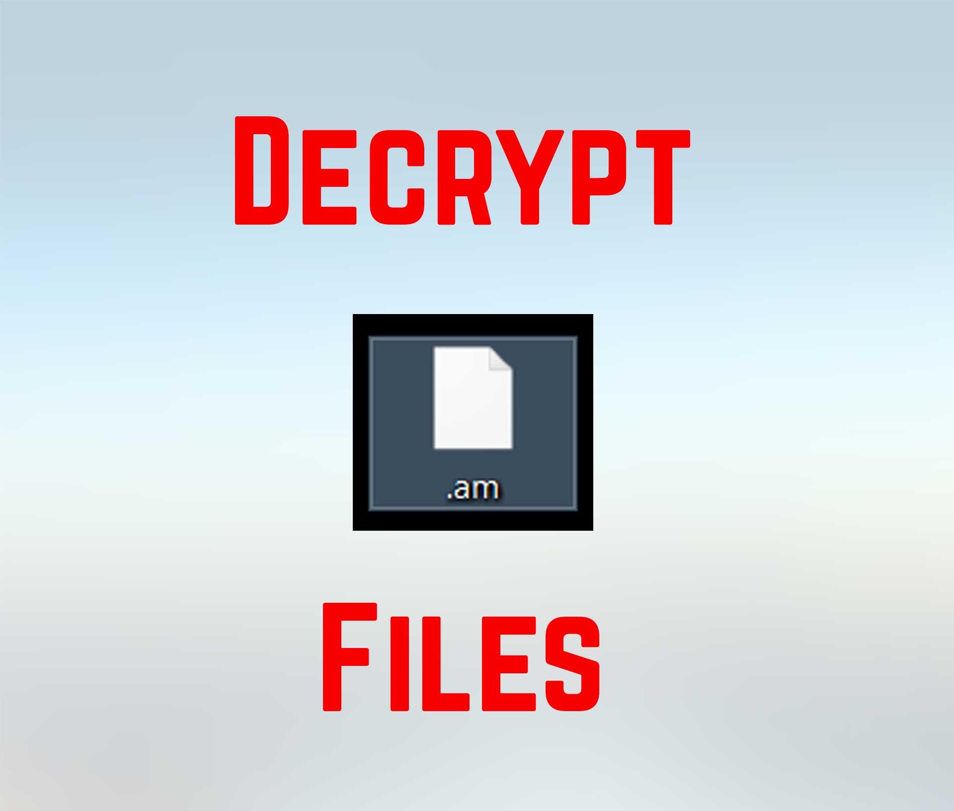 Virus de la mañana Archivos (Amnesia 2) El ransomware - Quitar + ...