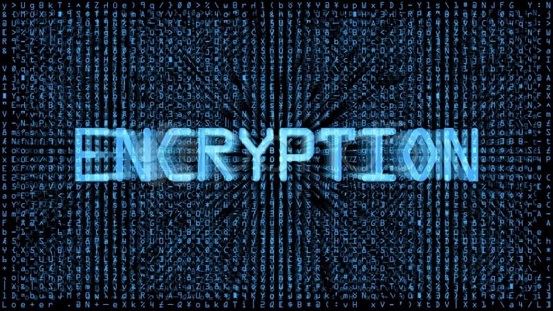 quantum encryption image