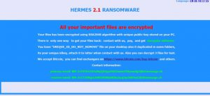 .HRM Files Virus (Hermes 2.1) ? How to Remove and Restore Files