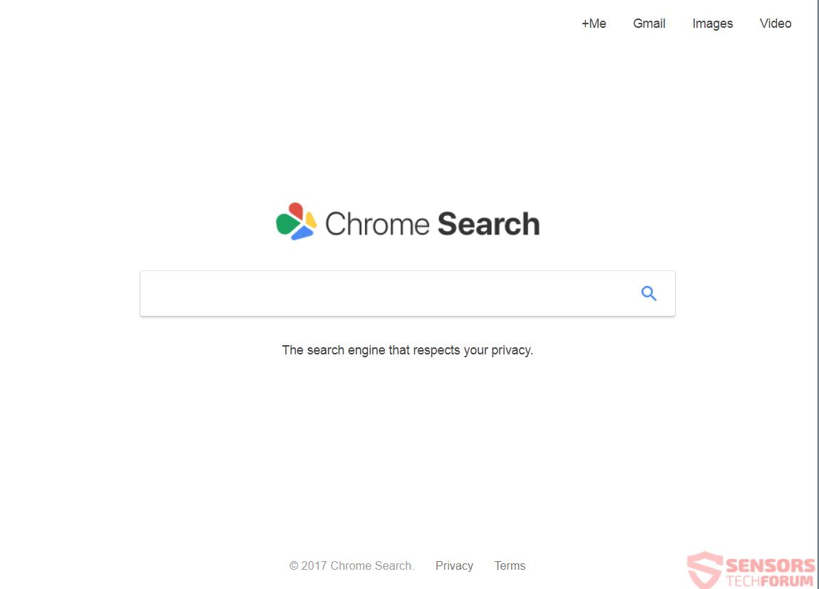 Cómo quitar ChromeSearch.win redirigirlo desde su PC
