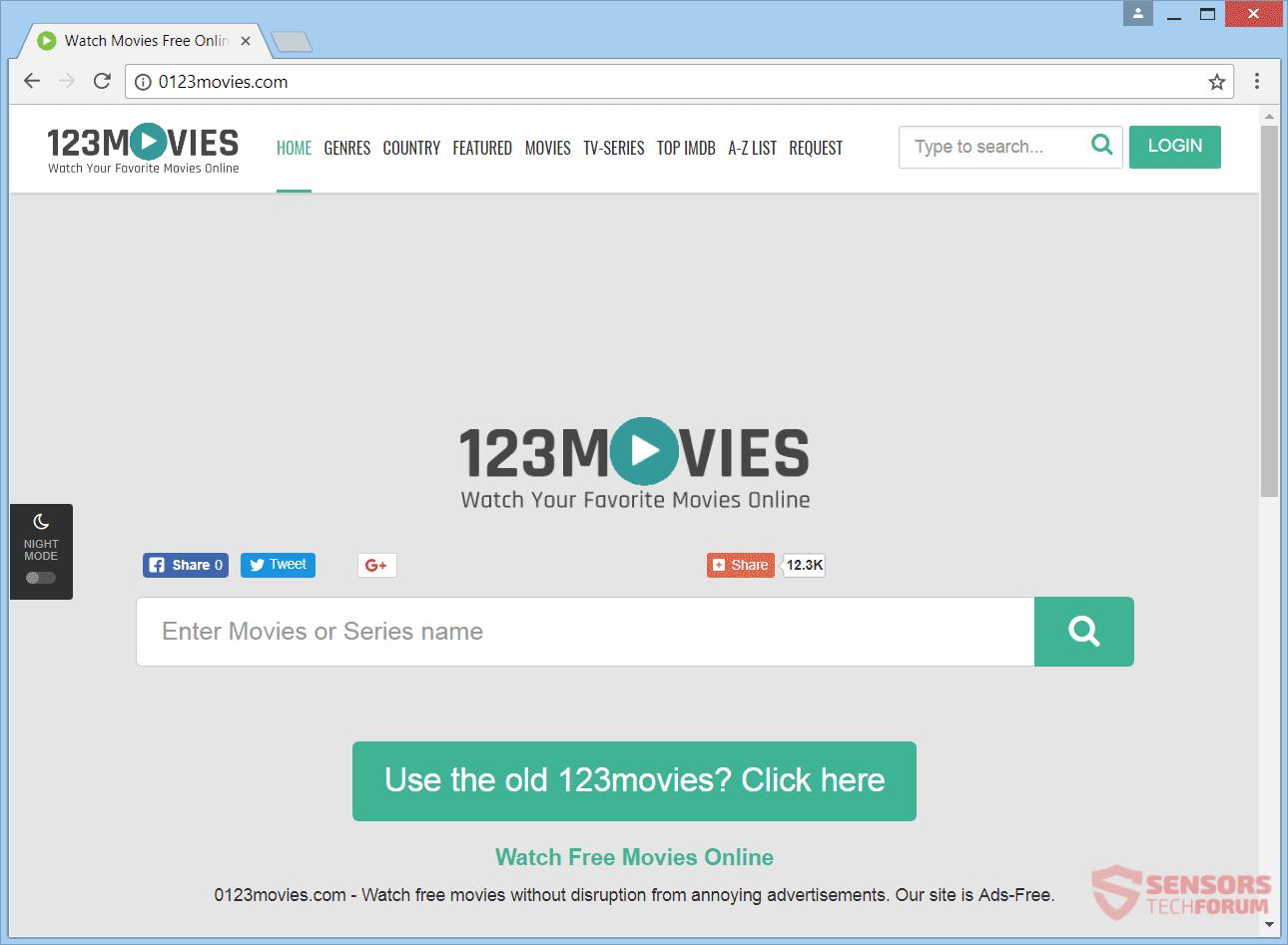 0123La eliminación movies.com redirección