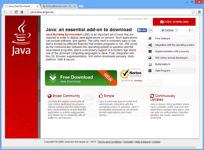 Install Java Update \u201cVirus\u201d Pop-up \u2013 How to Remove It Fully
