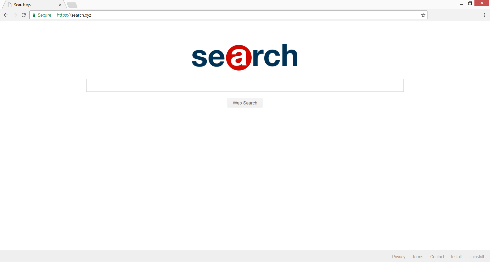 search xyz redirect homepage stf