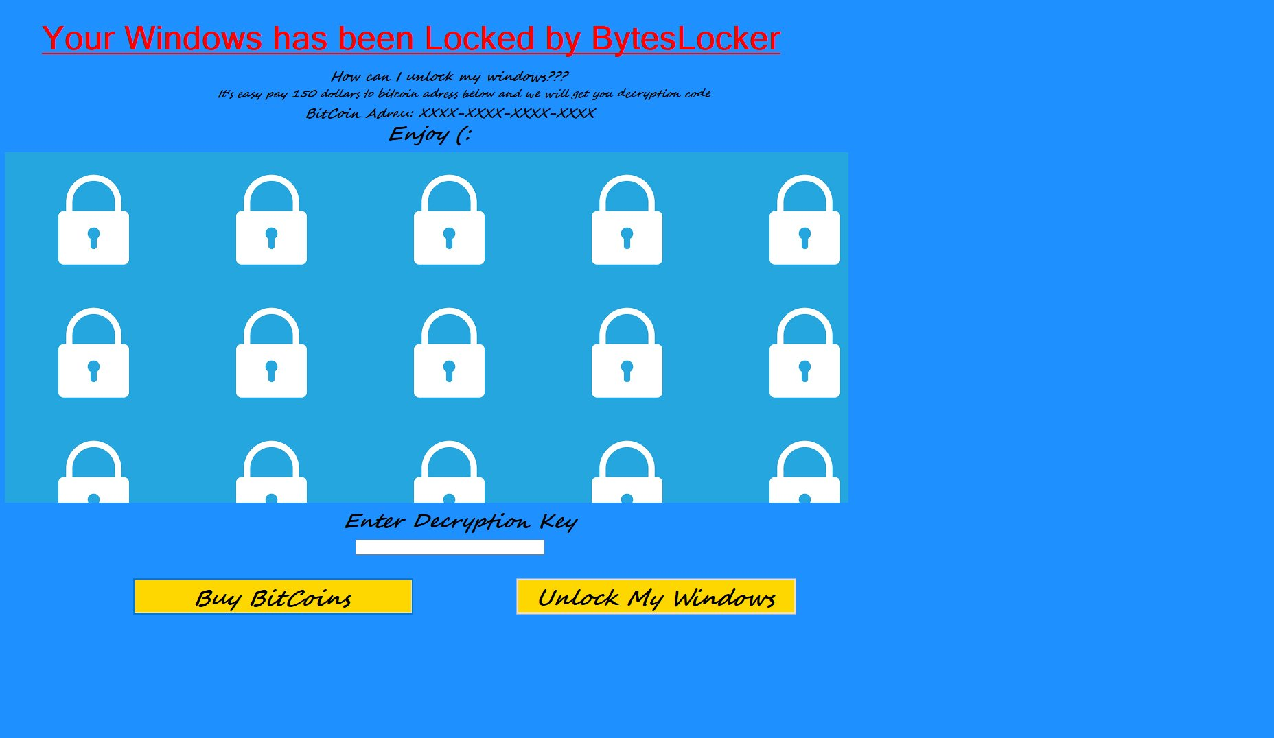 BytesLocker Ransomware – How to Remove and Unlock Your PC