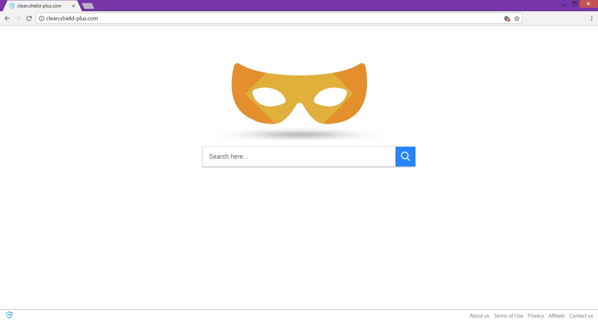 clean.shield-plus.com dubious search engine