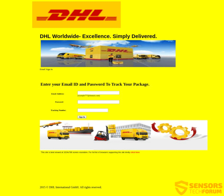 Fake DHL Text Message 2019 - Get Rid of DHL Scams