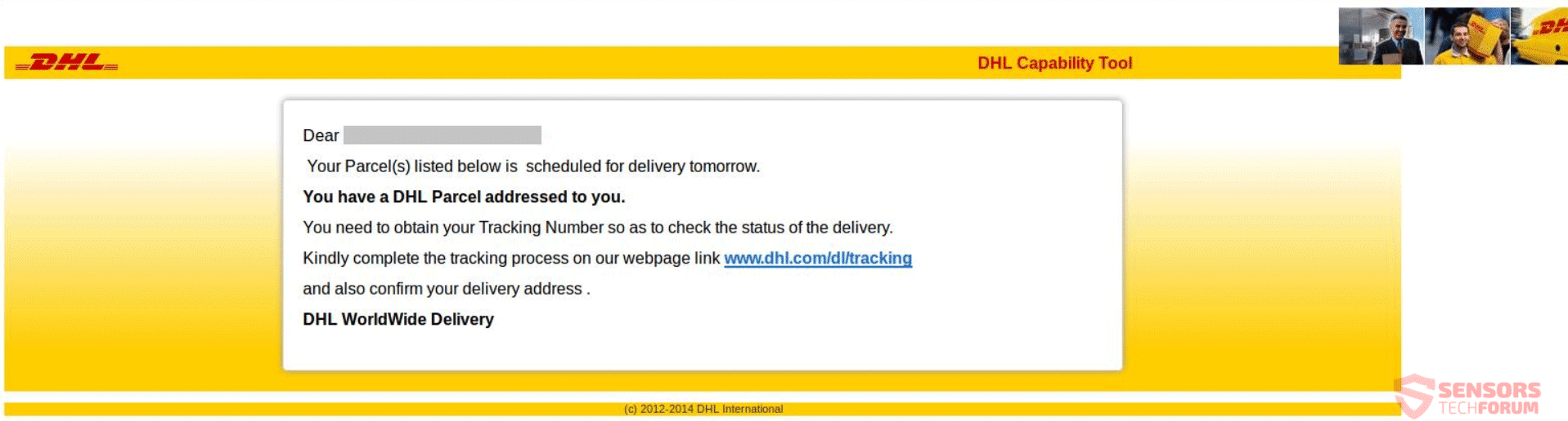 DHL Phishing Scams – How to Get Rid of Them