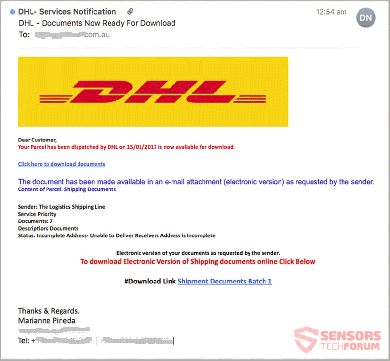Dhl Phishing Scams How To Get Rid Of Them