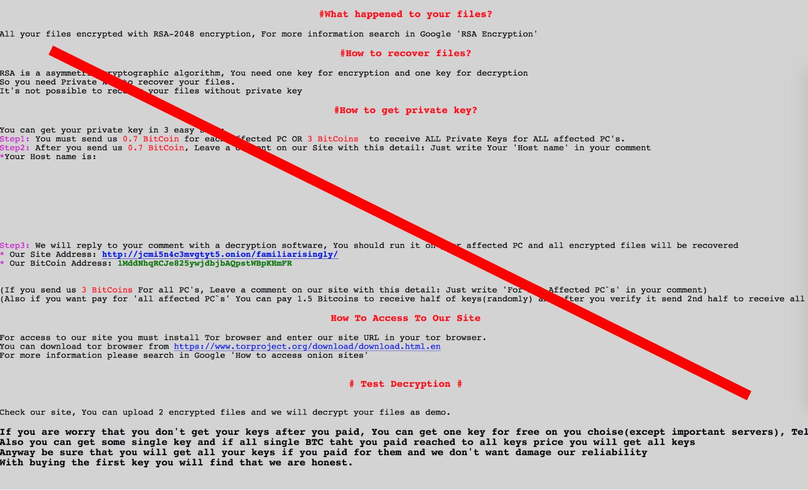SamSam ransomware (Sin embargo,) - Cómo quitar y descifrar archivos