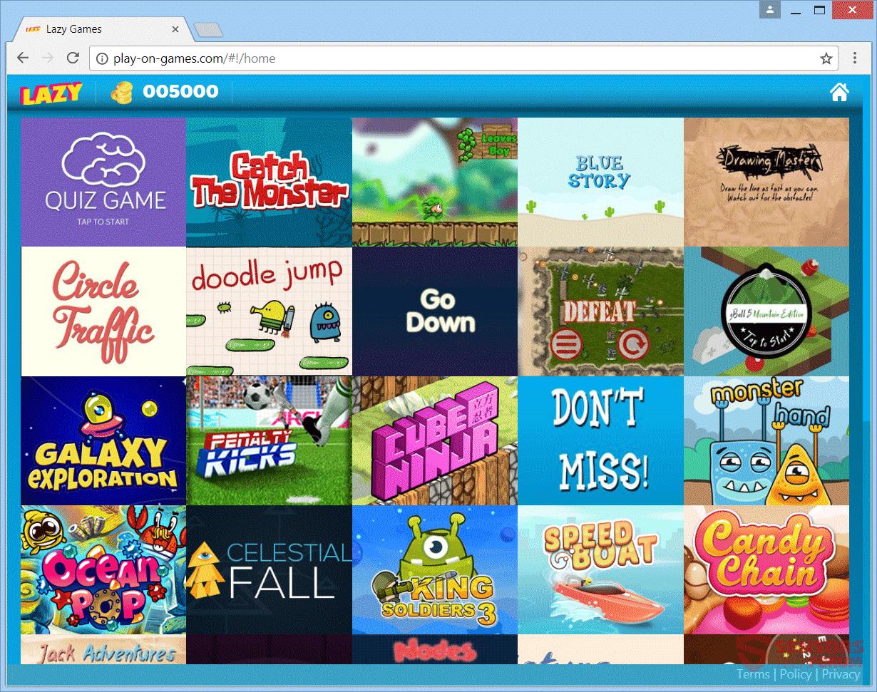 Retire Play-on-games.com Anuncios