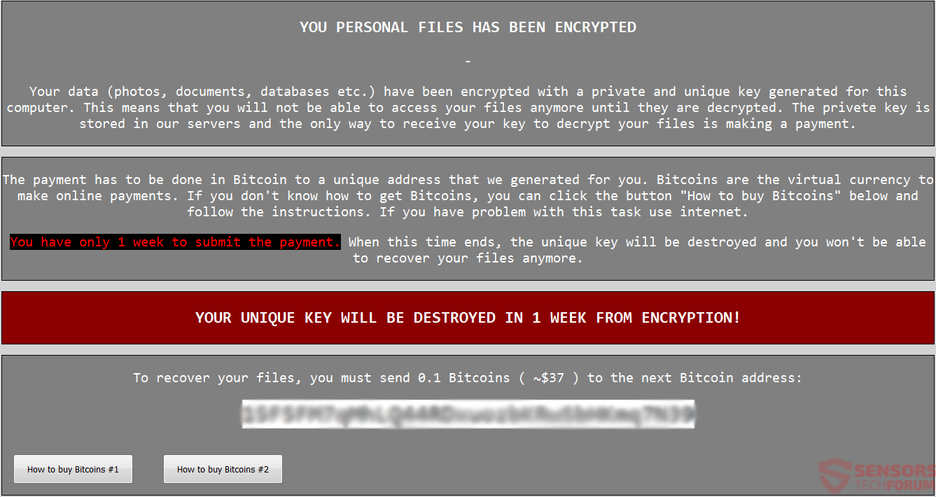 ENCRYPTED Virus (Crypren Ransomware) – Remove + Restore Files