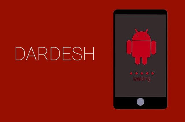 Dardesh android malware app image