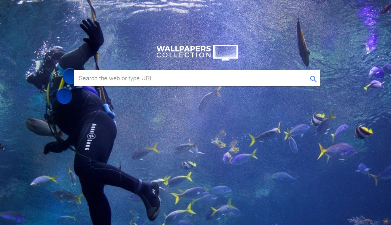 remove Wallpapers Collection browser extension