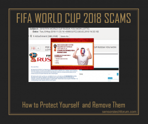 FIFA World Cup Russia 2018 Scam ? How to Remove It
