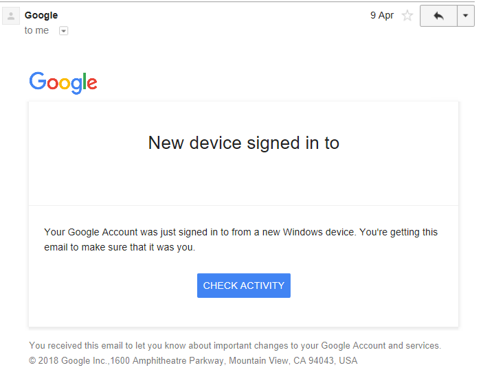 Google Critical Security Alert Virus Scam (Gmail) - How to Remove It