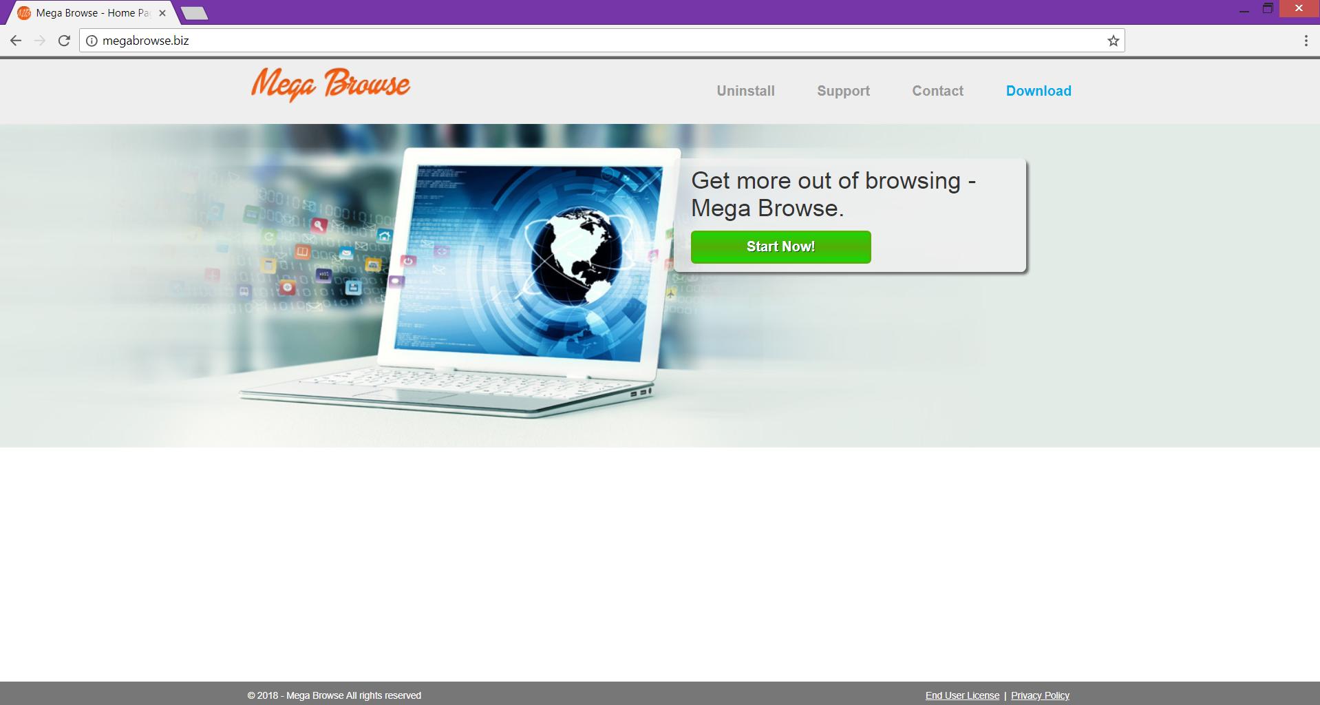 megabrowse.biz official website of mega browse extension