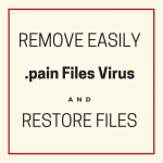 .pain Files Virus - Remove It and Restore Files sensorstechforum com