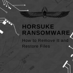 remove Horsuke ransomware restore .HORSE horsuke@nuke.africa files sensorstechforum