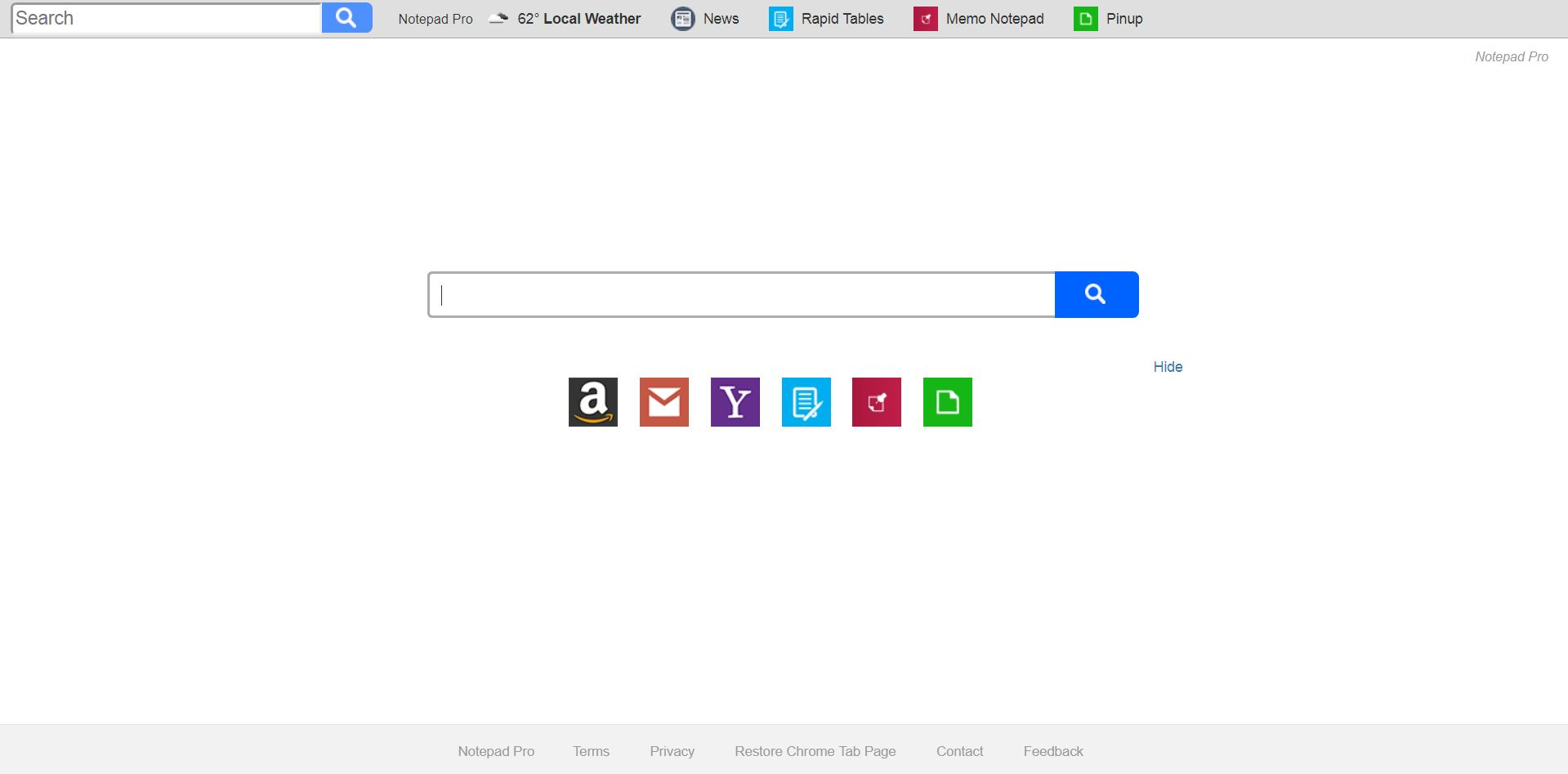 remove Search.hnotepadpro.co hijacker in full sensorstechforum com guide