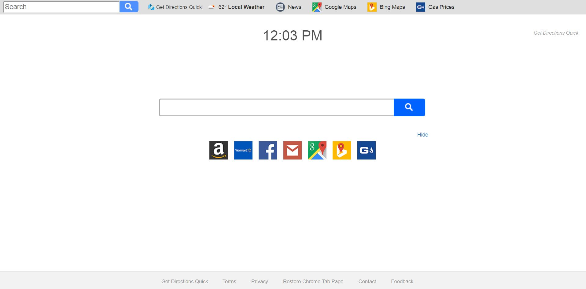 remove Search.searchgmfs3.com Get Directions Quick in full sensorstechforum com