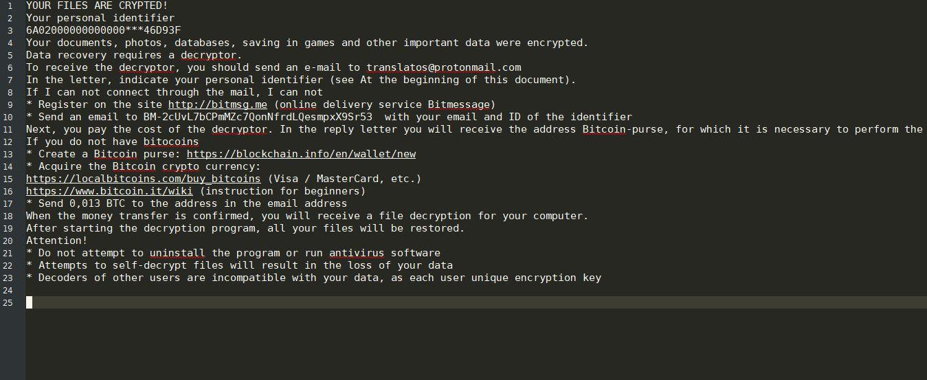 Scarab-Osk virus image ransomware note .osk extension