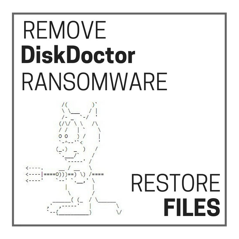 Remove DiskDoctor (Scarab) Ransomware and Restore Files