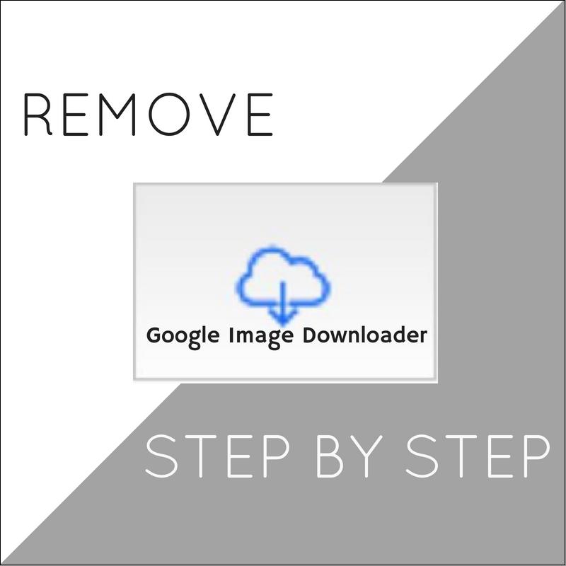 Eliminar Google Extensión Descarga de imágenes en su totalidad sensorstechforum