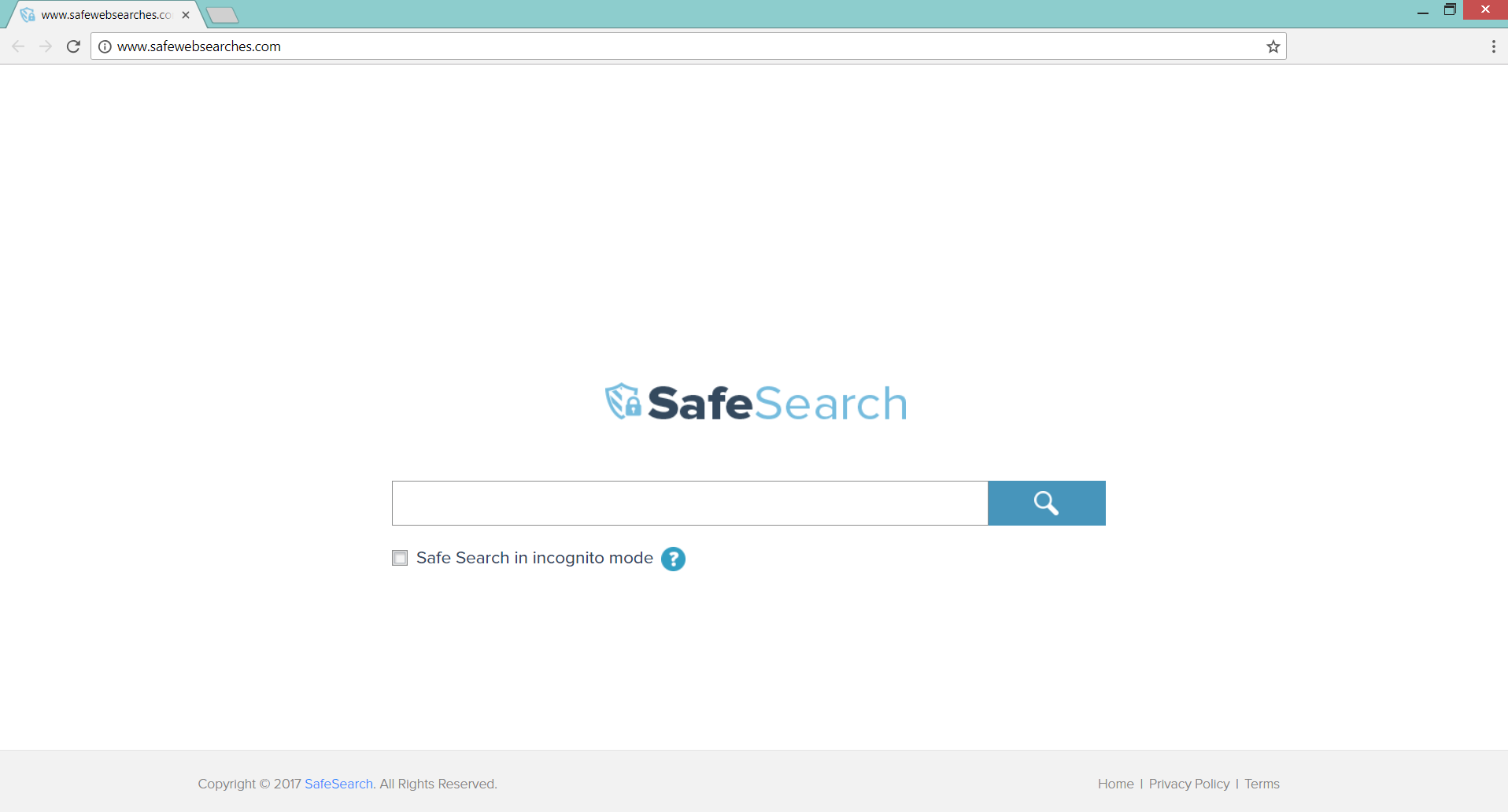 Safewebsearches.com redirect on affected chrome browser sensorstechforum com