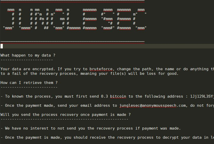 Remove JungleSec Virus — Restore  jungle@anonymousspechcom Files