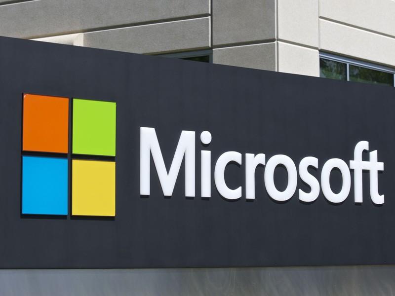 Microsoft Logo-Bild