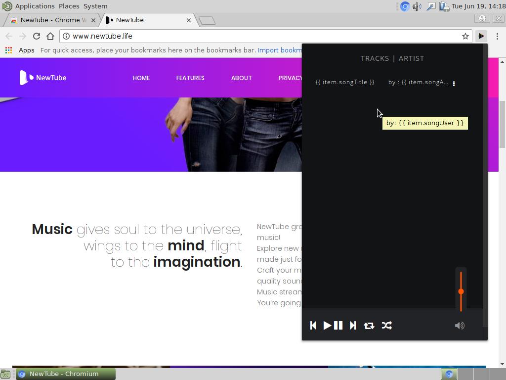 La eliminación de redirección NewTube - Cómo restaurar el navegador