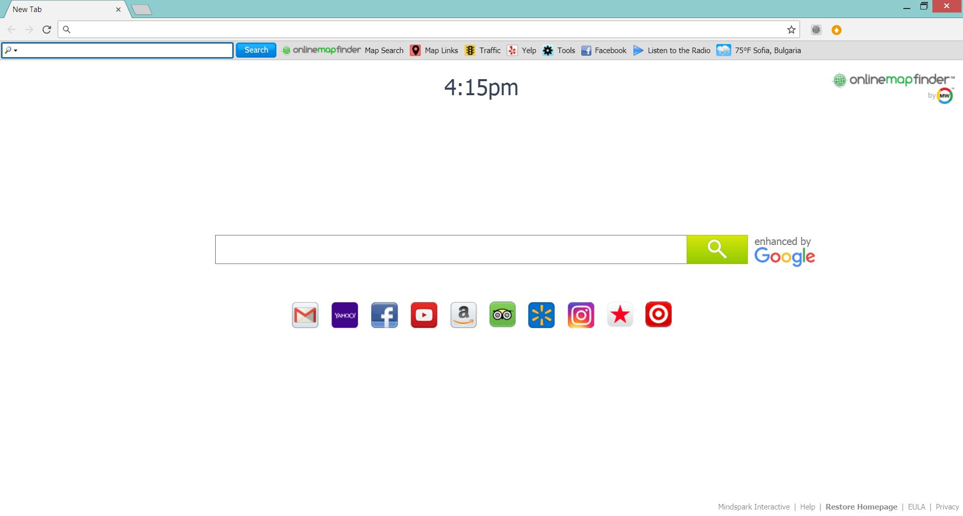 onlinemapfinder distributes myway browser hijacker