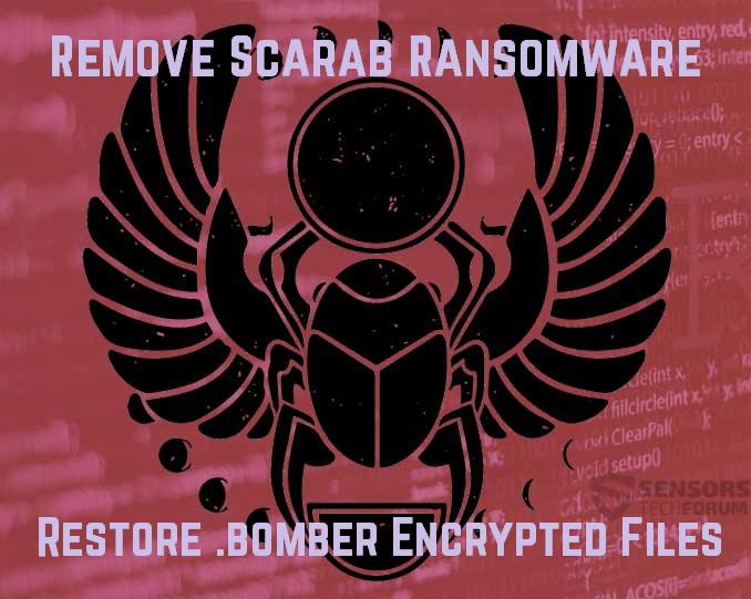 Remove Scarab-Bomber Ransomware - Restore .bomber Files
