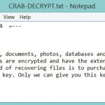 .KRAB Files Virus How to Remove GANDCRAB V4 and Restore Data sensorstechforum