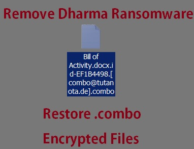 .combo Files Virus (Dharma Ransomware) - Remove + Restore Files