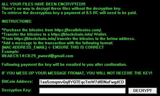 CryptoLite Virus image ransomware note .encrypted extension