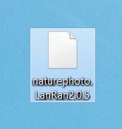 file encrypted by LanRan ransomware .LanRan2.0.5 extension