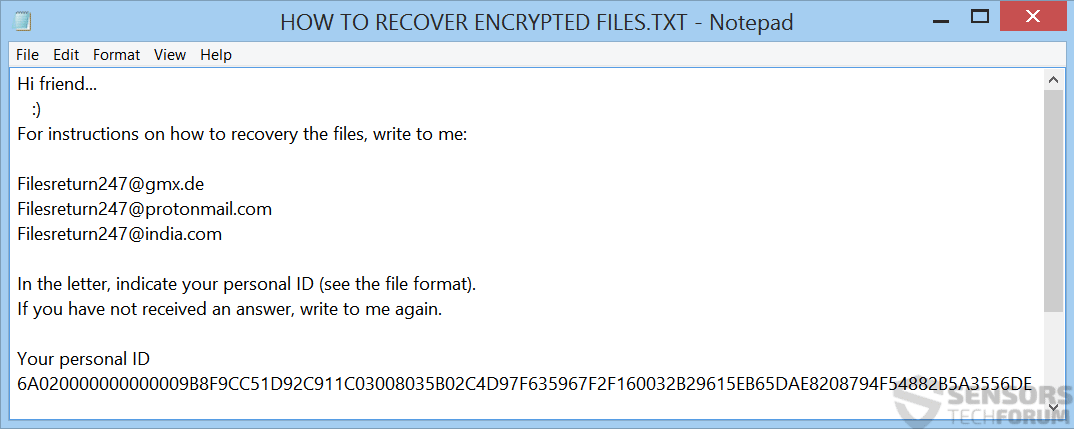 lock file virus