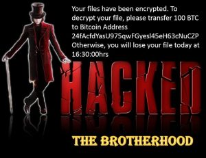 the brotherhood ransomware ransom message RansomNote.jpg sensorstechforum