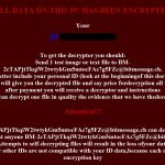How To Decode Files hta BadNews ransomware ransom note sensorstechforum