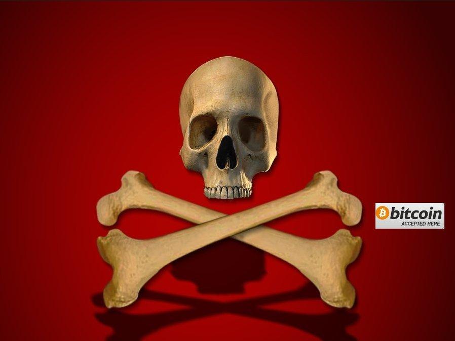 Jigsaw ossa incrociate virus .fun ransomware sfondo dell'immagine riscatto sensorstechforum