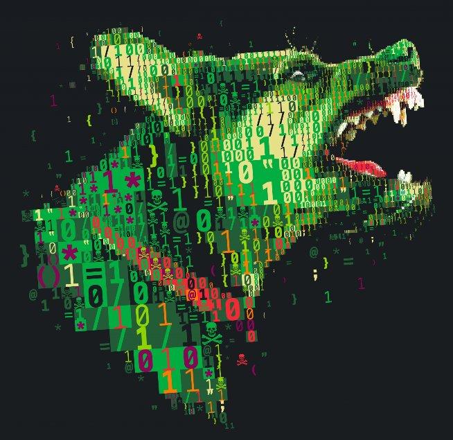 Jigsaw .fun virus ransomware cane feroce riscatto sfondo sensorstechforum