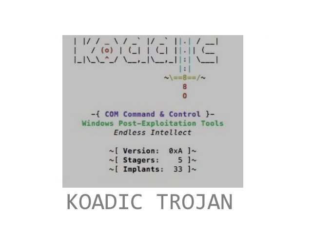 Koadic Trojan image