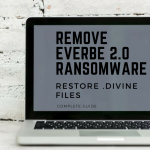 Remove Everbe 2.0 Ransomware Restore .divine Files sensorstechforum